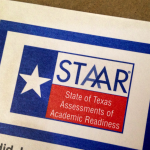 Image of STAAR test